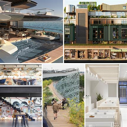 Superyachts, forest rooftops, concrete, containers and cannabis