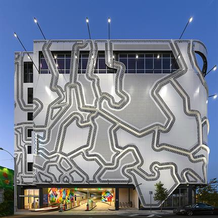 2019 WAN Awards: The Wynwood Garage Facade - Faulders Studio