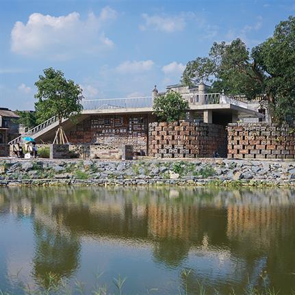 2021 WAN Awards entry: Public Toilets in Zuzhai Village - Atelier cnS