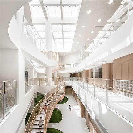 2020 WIN Awards entry: Wandering in the Woods,XinMeng · Montessori Kindergarten - L&M Design Lab