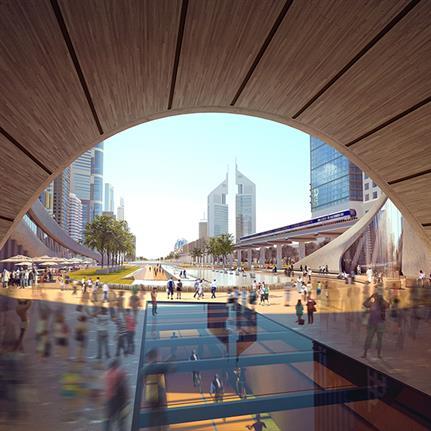 2019 WAN Awards: X-Space   Urban Greenway - Verform
