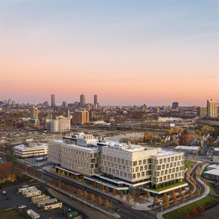 2021 WAN Awards entry: Harvard University Science and Engineering Complex (SEC) - Behnisch Architekten, Boston