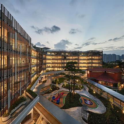 2019 WAN Awards: St Joseph's Home - SAA Architects Pte Ltd