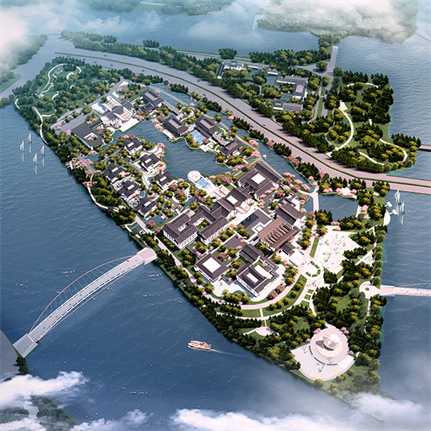 2021 WAN Awards entry: Yangzhou Delta Island International Conference Center Design - HHC Joint Research and Innovation Center