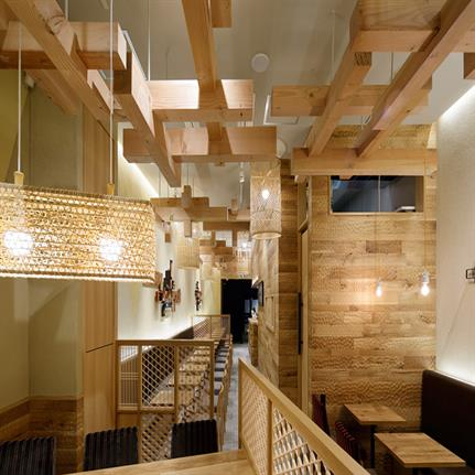 2019 WIN Awards: Ryogokubashi Tea House - cmyk Interior & Product