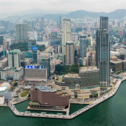 2020 WAN Awards entry: Tsim Sha Tsui Waterfront Revitalization, Avenue of Stars and Salisbury Garden - James Corner Field Operations