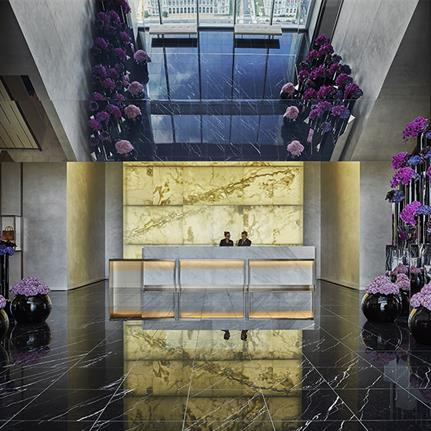 2020 WIN Awards entry: Four Seasons Hotel at Comcast Technology Center - Foster + Partners