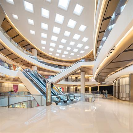 2020 WIN Awards entry: Bund Financial Center South Mall - Kokaistudios