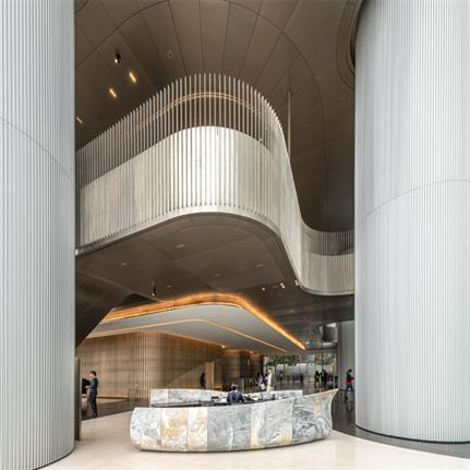 2020 WIN Awards entry: One Taikoo Place - Gustafson Porter + Bowman