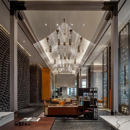 2020 WIN Awards entry: Canopy by Hilton City Center Chengdu - Cheng Chung Design