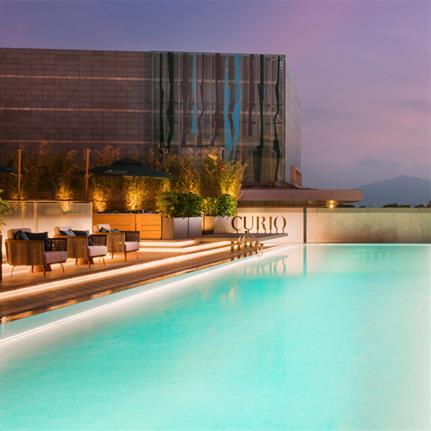 2020 WIN Awards entry: Joyze Hotel Xiamen: Curio Collection by Hilton - Cheng Chung Design