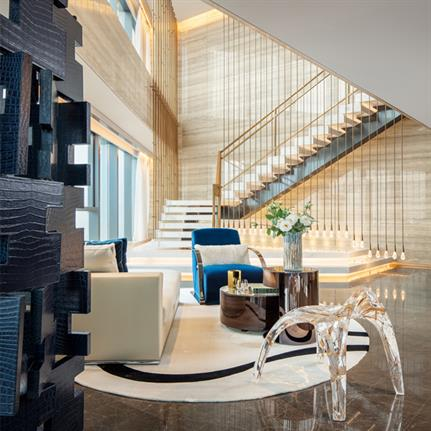 2020 WIN Awards entry: One Sanlitun: Fendi - Cheng Chung Design