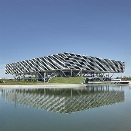 2020 WIN Awards entry: adidas World of Sports ARENA - Behnisch Architekten