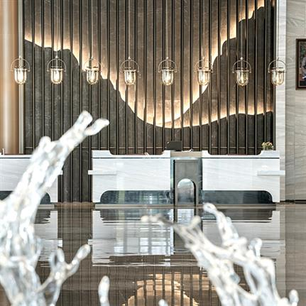 2020 WIN Awards entry: Zhangjiagang Marriott Hotel - PLD