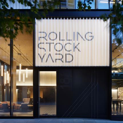 2020 WAN Awards entry: Rolling Stock Yard - Squire & Partners