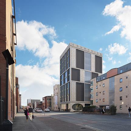 Alumno granted approval for new Manchester student residence