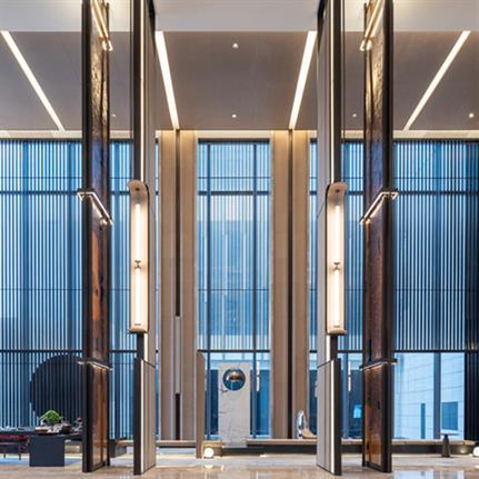 2021 WIN Awards entry: Fuzhou Marriott Hotel Riverside - Paul Liu Design Consultants Co., Ltd