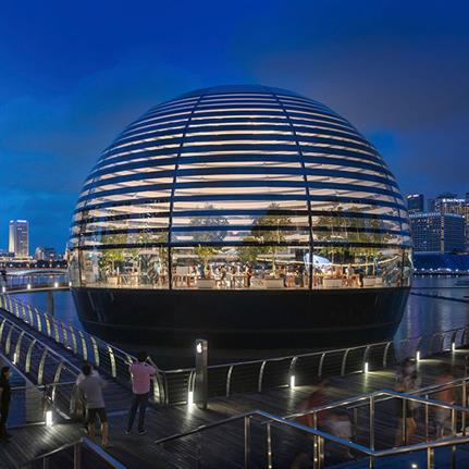 2021 WAN Awards entry: Apple Marina Bay Sands - Foster + Partners