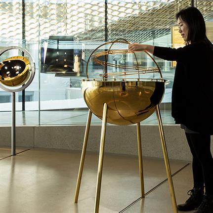 2021 WIN Awards entry: Musée Atelier Audemars Piguet - ATELIER BRÜCKNER GmbH