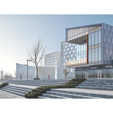 2021 WAN Awards entry: Greenland Health & Wellness Town, Nanchang - URBRN Architecture