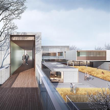 2021 WAN Awards entry: Joyful Healthcare Community Center - GN Architecture Design