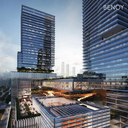 2021 WAN Awards entry: Alibaba Central China Headquarters and Industrial Complex - Benoy