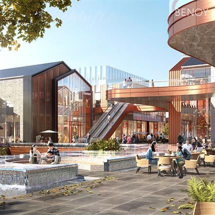 2021 WAN Awards entry: Ningbo Deji Historic Street Regeneration - Benoy