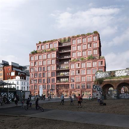 Morris+Company's contemporary Shoreditch warehouse gets green light
