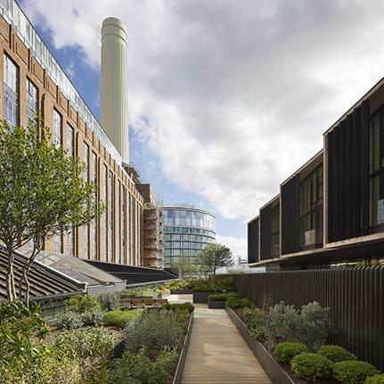 First section of Battersea Power Station's new residential building completed