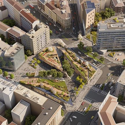 LOC'S Piazzale Loreto proposal wins Reinventing Cities competition