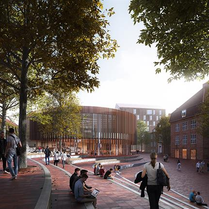 AART win design competition for new School of Business and Social Sciences in Danish university