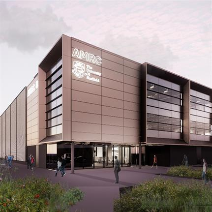 Robertson's Advanced Manufacturing Research Centre progresses for University of Sheffield