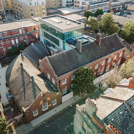 Whitechapel's modern workspace refurbished from former jobcentre