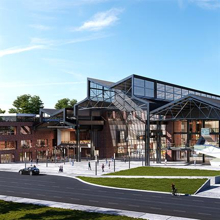 McMaster Innovation Park's adaptive reuse master plan by mcCallumSather