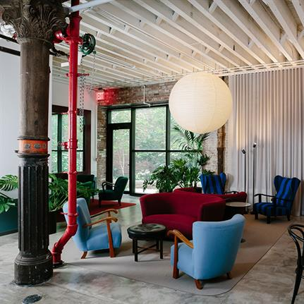 CIVILIVN's interior design for Newlab's new NY location