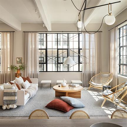 Design duo transform NY's two historic Dumbo paint factories into residences