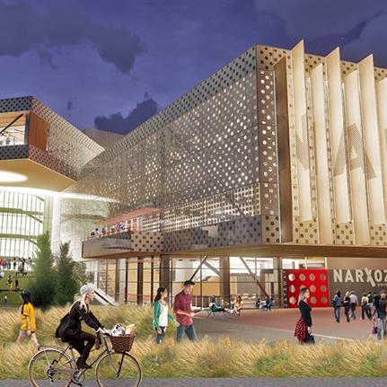HMA2 Architects plan transformational university construction in Almaty Kazakhstan
