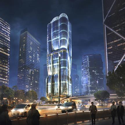 Hong Kong's LEED and WELL Platinum design by Zaha Hadid Architects