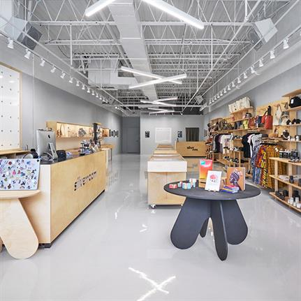 The Silver Room: Future Firm redesign Chicago's boutique and community space