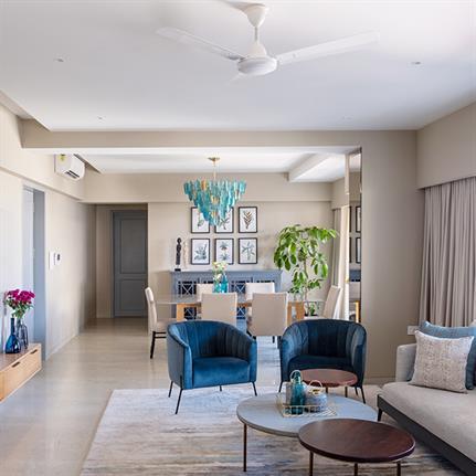 The Jardin Home: Quirk Studio's adjustable home in Mumbai