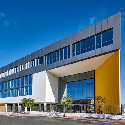 Thank Godwin Austen Johnson for Arcadia Education's secondary campus in Dubai