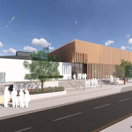 Construction commences on Scottish single story school by Scott Brownrigg