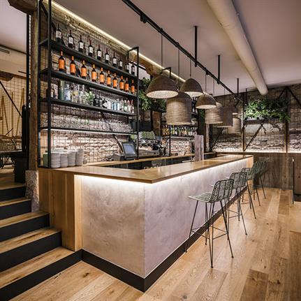 Madrid's new gastronomic experience by Zooco Estudio