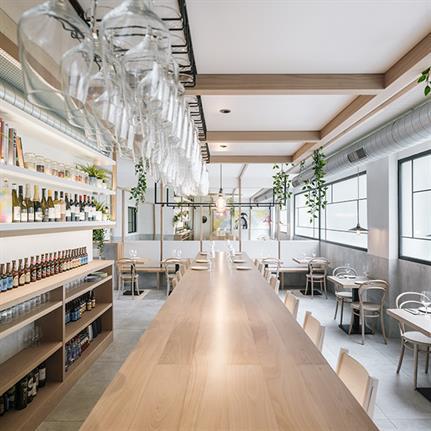 Zooco Estudio design seafood restaurant near Santander's seashore