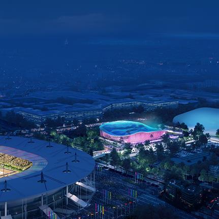 Architectural consortium to create Aquatics Centre for Paris 2024 Olympic games