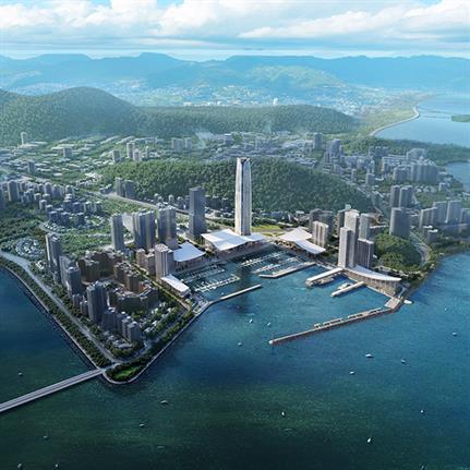 Skidmore, Owings & Merrill to design Jiuzhou Bay, Zhuhai's waterfront neighbourhood