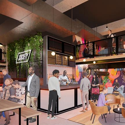 New food market by Jump Studios for Manchester