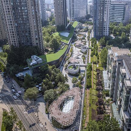 Kokaistudios rethinks public spaces for Beijing Galleria-Instreet renovation