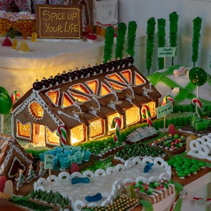 Gingerbread City returns to London with 'nature in the city' theme