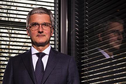 Rupert Stadler, Audi boss in the eye of an emissions storm
